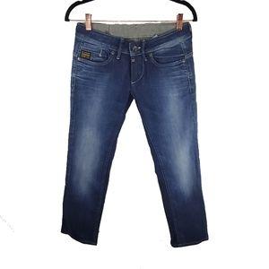 G-Star RAW Midge Straight Rover UV Aged Jeans 27
